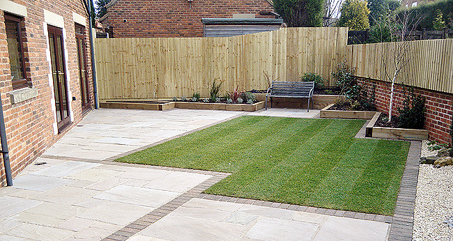 Patios and Patio Design to Fencing and Garden fencing in Chesterfield Derbyshire